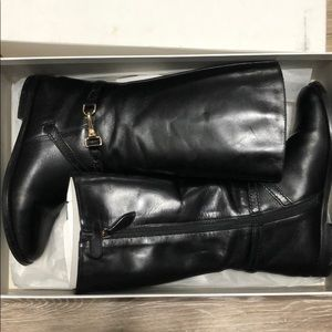 Burberry Riding Style boots